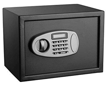Adir 0.5 Cubic Feet Security Safe With Digital Lock
