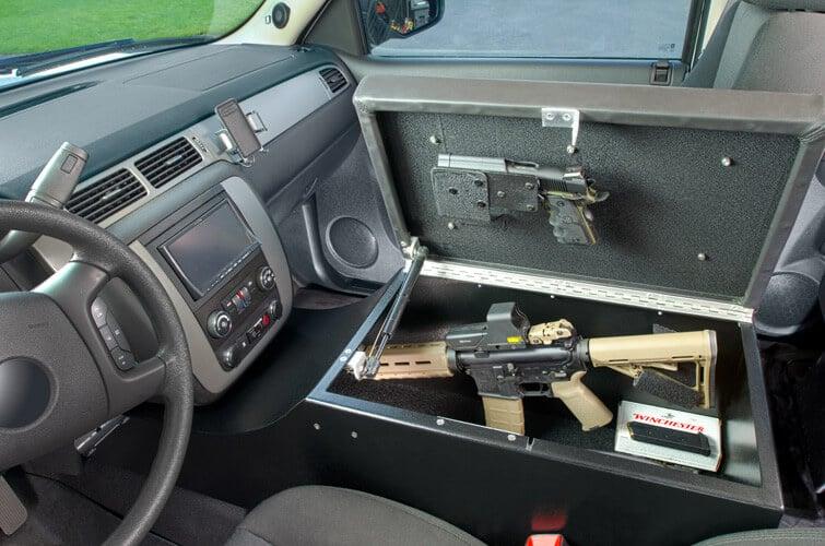 car gun safes