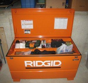 a ridgid rsc gun safe